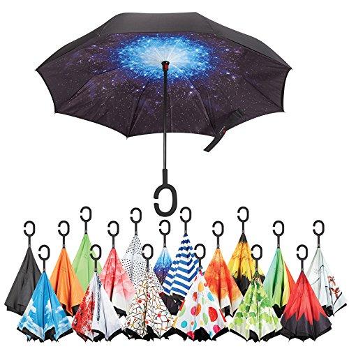 Inverted Umbrella Best Windproof Umbrella Cars Reverse Umbrella