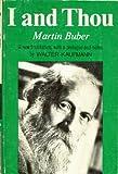 Image of Martin Buber: I & Thou