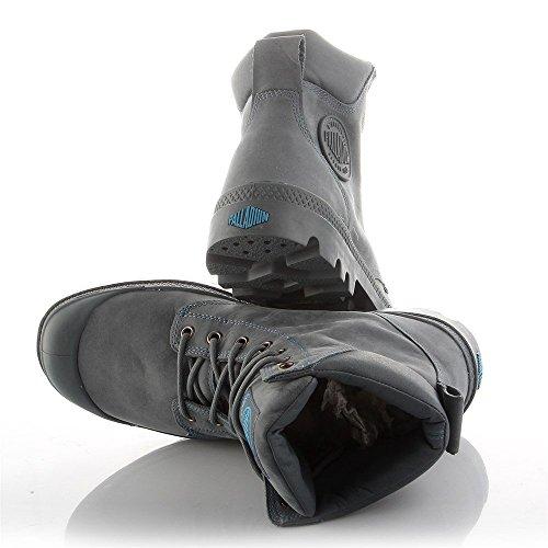Palladium - Zapatillas de caña alta de cuero unisex