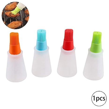 Botella 1PC Silicona Cepillo de la Parrilla Barbacoa Hornear Pasteles petróleo Miel Vino del Cepillo de