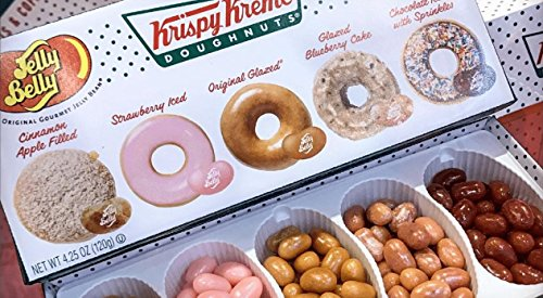Review Jelly Belly Krispy Kreme Jelly Bean Gift Box 4.25oz