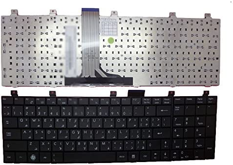 Laptop Keyboard for MSI A5000 A6000 A6005 A7005 CR500 CR500X CR600 CR600X CR700 CX500 CX500DX CX600 CX600X CX700 CX700X Arabia AR