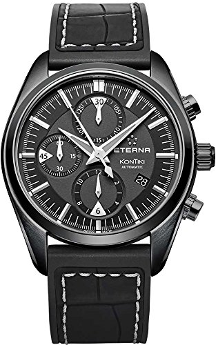 Eterna - Reloj de pulsera hombre kontiki Cronógrafo Fecha Analógico Automático 1241.43.41.1306: Amazon.es: Relojes