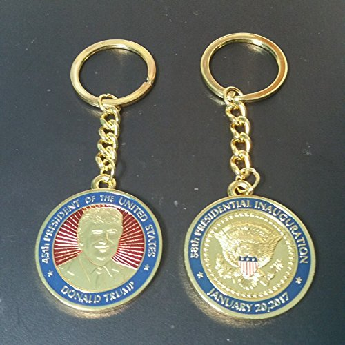 Donald Trump Official Presidential Inauguration Key Chain