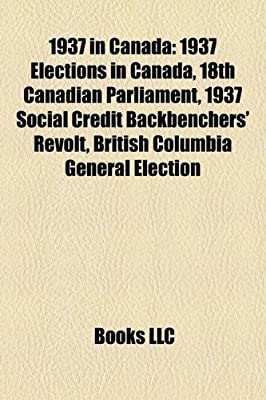 1937 Social Credit backbenchers' revolt