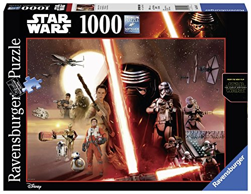 Star Wars Puzzle 1000 Premium Kylo Ren Captain Phasma Episode VII