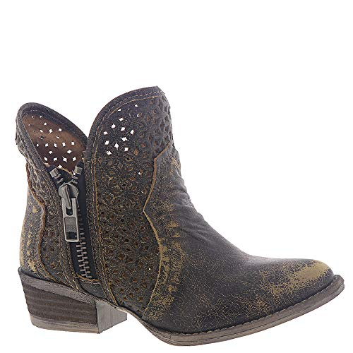 Corral Boots Q5021 Black/Yellow 8.5