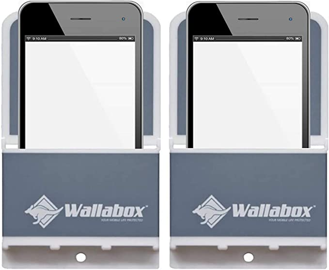 Amazon Com Wallabox Steel Gray 2 Pack Universal Cell Phone Holders Wall Mount Fits All Iphone Android Phones Great For Bedroom Bathroom Office Car Charging Station,Bedroom Mr Price Home Furniture Catalogue