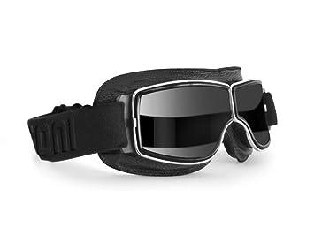 6f1812758a BERTONI Gafas de Moto Lentes Fotocromaticas - Gafas Vintage Aviadoras para  Motoristas F188PH: Amazon.es: Coche y moto