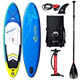 Aquamarina Beast SUP Stand Up Paddle Board with Leash, Backpack, Double Action Pump and Paddle, L