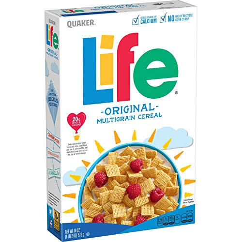 Large Product Image of Quaker Life Cereal, Original, 18 Ounce