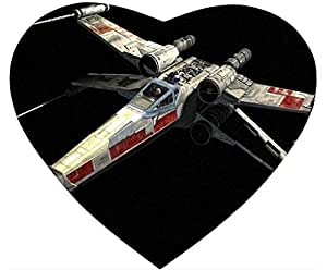 X Wing 2 Mouse Pad Desktop Laptop Mousepads Comfortable Office Mat Cute Gaming Mouse Pad