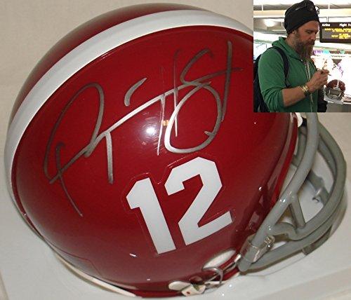 Signed Titans Mini Helmet (Ryan Hurst Gerry Bertier Hand Signed / Autographed Remember The Titans Mini F...)