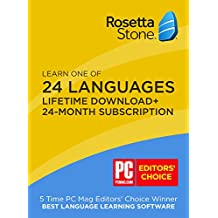 Rosetta Stone 91187 Learn 24 Month Subscription with Perpetual Download Fairfield Language Technologies, us software, FLTX9