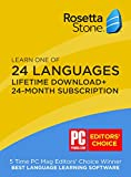 Rosetta Stone 24 Month Online Subscription + (BONUS) Lifetime Download: Learn any language on iOS, Android, PC, and Mac