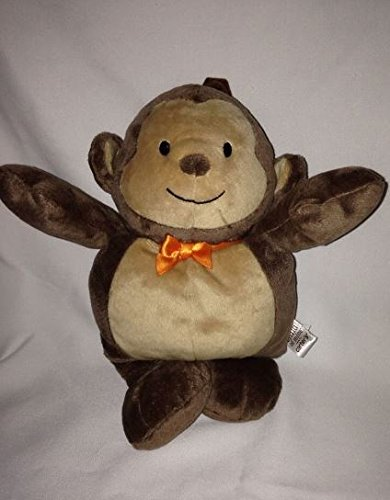 Child of Mine Musical Plush Monkey with Pull Down Tail - Plays Brahm's Lullaby
