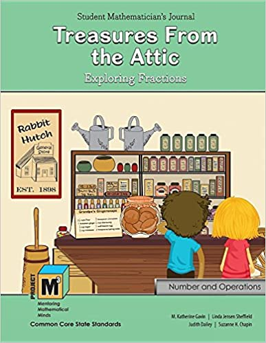 Read online Project M3: Level 4-5: Treasures From the Attic: Exploring Fractions Student Mathematician's Journal PDF