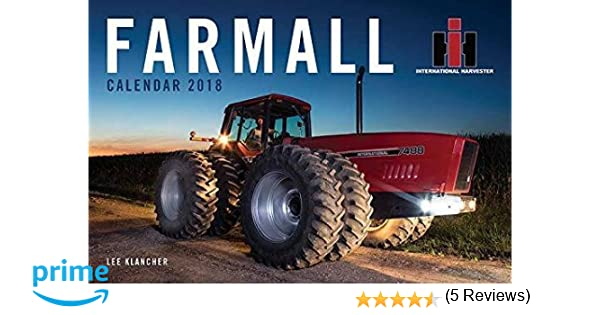 Farmall tractor calendar 2018 lee klancher 9781937747763 amazon farmall tractor calendar 2018 lee klancher 9781937747763 amazon books fandeluxe Choice Image