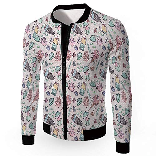 Fashion Jackets,Jellyfish,Mountain Bike Road Bicycle Shirt Tights Padded Biking, ()