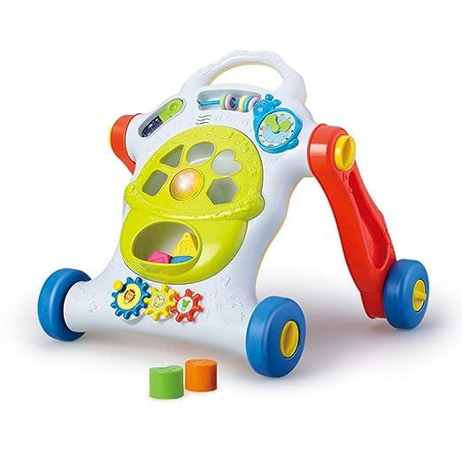 LZTET Andador De Bebé Multifuncional con Bloques De Construcción ...