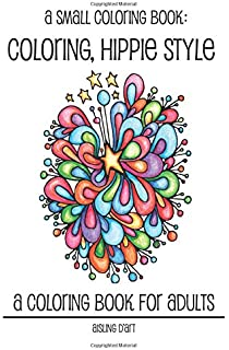 a small coloring book coloring hippie style - Small Coloring Pictures