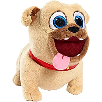 """Amazon.com: Puppy Dog Pals Just Play 5"""" Bean Plush Rolly"""