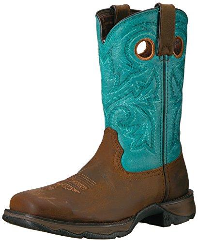 Durango Brown Boot Women's Turquoise DWRD022 Western vrwvqYZ