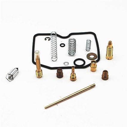 Autu Parts Carburetor Carb Rebuild Kit Repair For Suzuki Eiger LTF400 400 2X4 2003 2007