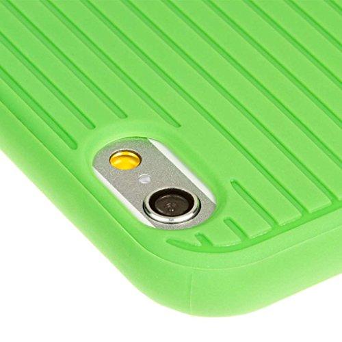 """EMPIRE GRUVE Full Schutz TPU Case Hülle Tasche für Apple iPhone 6 4.7"""" - Neon Grün (Displayschutzfolie Film Included)"""
