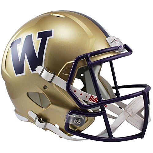 Riddell Washington Huskies Officially Licensed NCAA Speed Full Size Replica Football Helmet