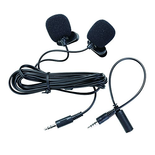 ThiEYE 3.5mm Lapel Microphone for T5e Action Camera Recording and YouTube/Interview/Video Conference/Podcast/Voice Dictation/iPhone Audio Recording