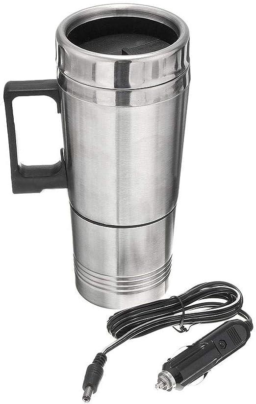 1yess Copa Termo 300ml portátil en el Coche Cafetera Tapa del pote del té del vehículo Termo Copa Calefacción: Amazon.es: Hogar