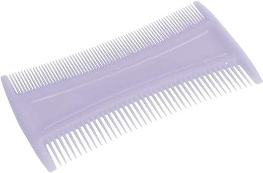 Los piojos peine de plástico, blanco - liendres pulgas tratamiento para los piojos peine: Amazon.es: Hogar