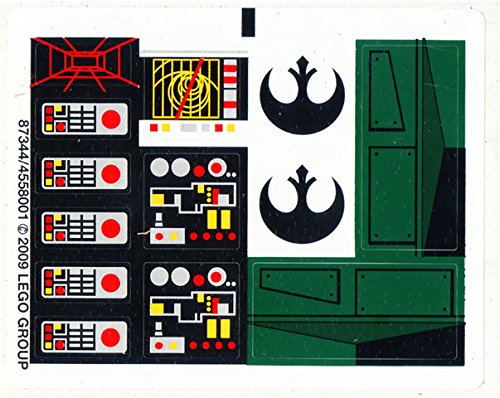 Lego Original Sticker Sheet for Star Wars Set #7754