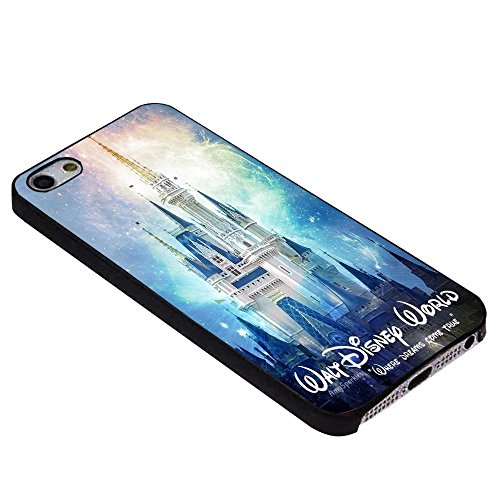 walt disney world castle For iPhone Case (iPhone 5/5S black) (Iphone 5 Case Disney World compare prices)