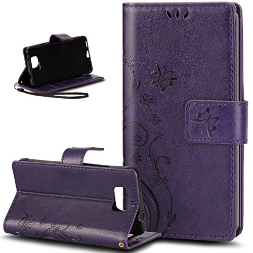 ikasefu-pure-color-retro-butterfly-design-folio-leather-wallet-case-cover-with-strap-for-samsung-gal
