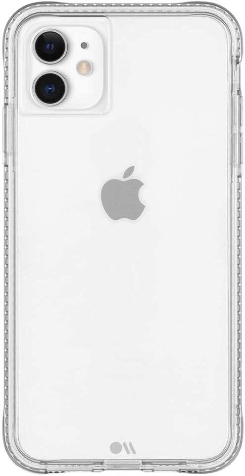 Case-Mate - Certified Anti-Microbial iPhone 11 Case - Tough Clear Plus - Clear Plus