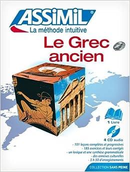 Grec Ancien Pack (+CD) (Senza sforzo): Amazon.es: Assimil: Libros