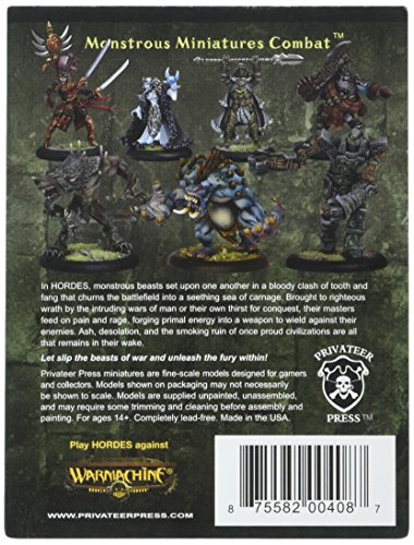 Privateer Press - Hordes - Minion: Gudrun The Wanderer Model Kit 4