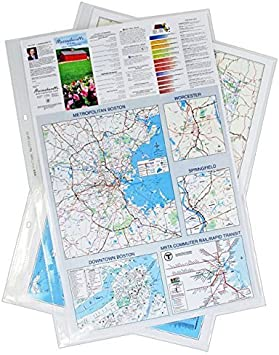 Diamond Clear 11x17 17 x 11 Inches Poly Sheet Protectors Archivable 656600 Pack of 25