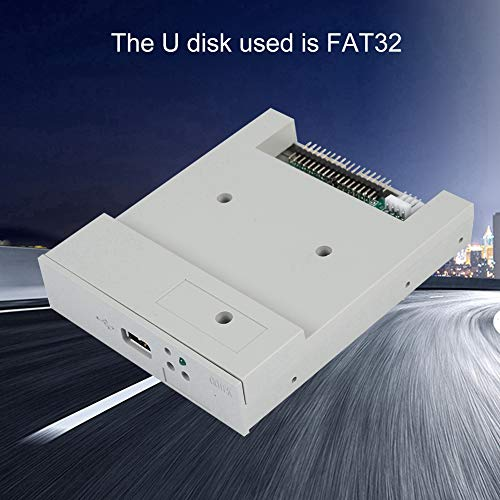 fosa USB Floppy Emulator, SFR1M44-U 3.5In 1.44MB USB SSD Floppy Drive Emulator Updated Version USB Flash Plug and Play with CD Screws for Floppy Disk Drive Industrial Control Equipment by fosa (Image #4)