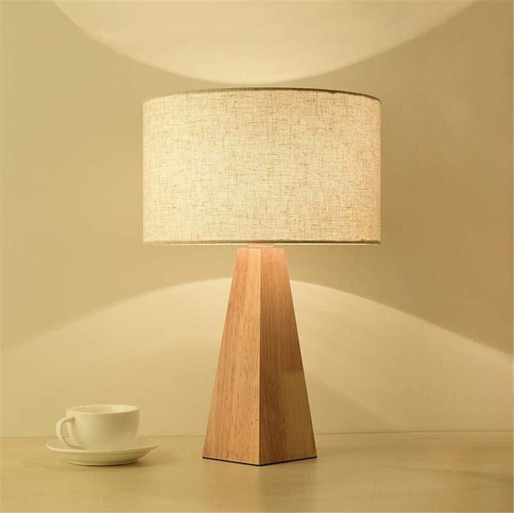 Lámpara De Mesa Oculta Moderna Lámpara De Escritorio De Madera Con ...