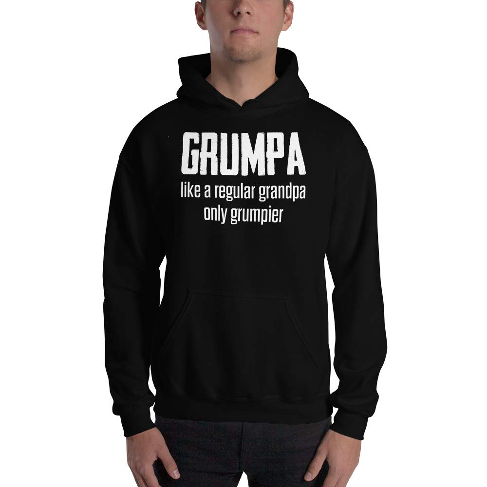 Grumpa Like A Regular Grandpa Only Grumpier Hooded Sweatshirt