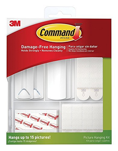 Command Picture Hanging Kit 5GQF, 4-PACK