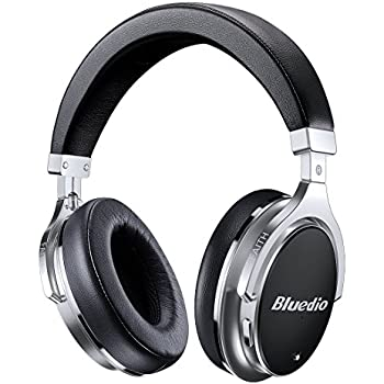 Bluetooth Headphones Active Noise Cancelling, Bluedio F2 ANC Over Ear Wireless Headphones 180° Rotation,Wired and Wireless Headphones for Cell Phone/ TV/ PC ...