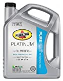 Pennzoil Platinum Full Synthetic Motor Oil 5W-20 - 5 Quart Jug