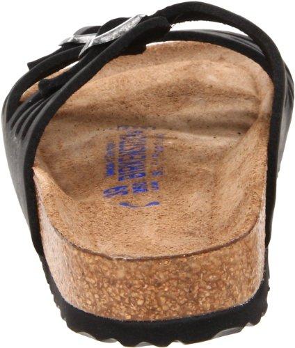 Birkenstock Women's Granada Soft Footbed Sandal,Black Oiled Leather,39 N EU by Birkenstock (Image #2)