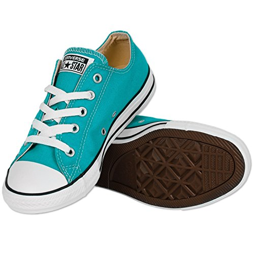 Converse CTAS Season Ox, Unisex-Kinder Sneakers Cyan Space ...