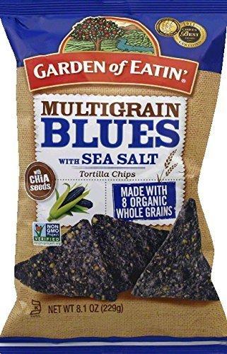 - Garden Of Eatin Organic Multigrain Blues Tortilla Chips, 8.1 Ounce -- 12 per case. by Garden of Eatin'