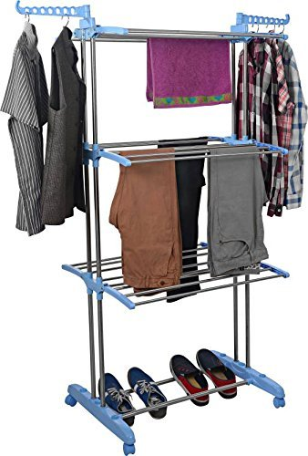 TNC Premium Heavy Duty Stainless Steel Cloth Drying StandCloth